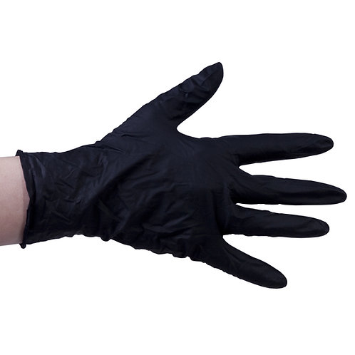 Nitril Gloves 100pcs Black S