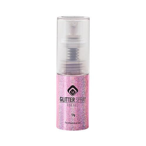 Glitter Spray Hologram Pink
