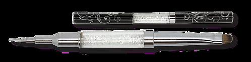 Rhinestone and pigment brush + Dotting Tool
