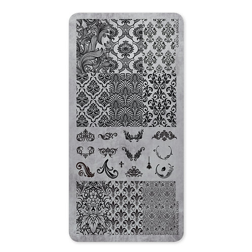 Stamping Plate 04 Baroque