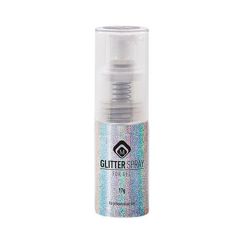 Glitter Spray Hologram Silver