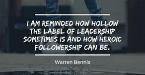 Followership - Part II