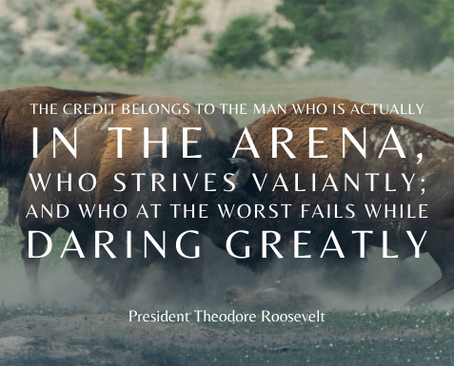 Grit and the Man in the Arena