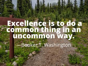 A Good Example Outweighs Good Advice