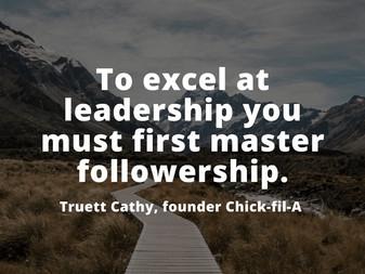 Leadership Influence: Work on Your Followership