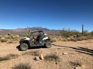 ATV's near Four Peaks