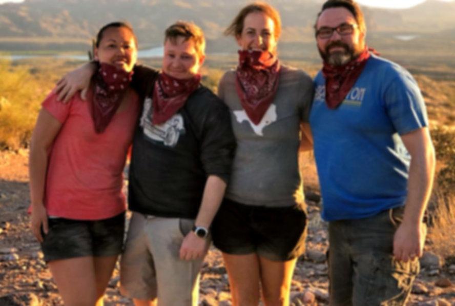 Adventures with friends in Arizona