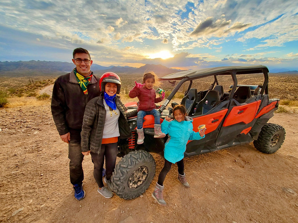 Family Vacation in the Sonoran Desert