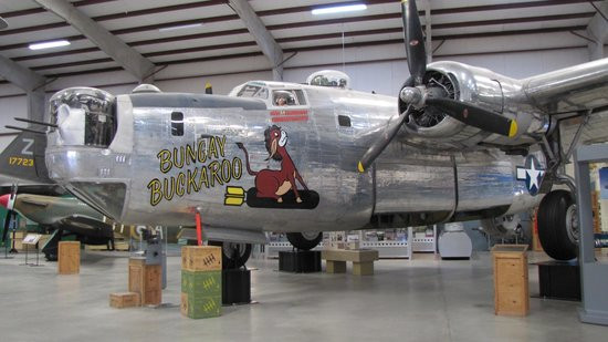 Bomber at the Pima Air and Space Museum