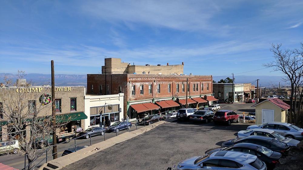 Downtown Jerome Arizona