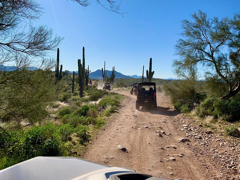 Desret ATV Trails in Scottsdale
