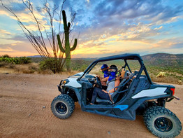 Sunsets, Utv's & Saguaro's