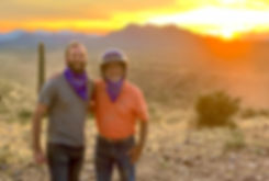 Father & Son on a Sunset ATV Tour in Scottsdale