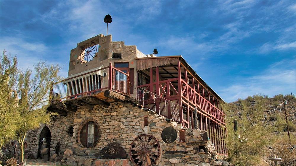 Old castle in Phoenix Arizona