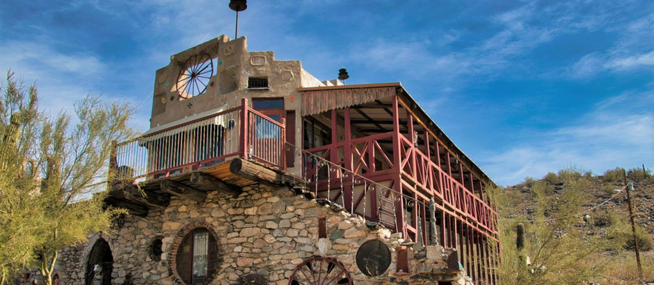 Arizona's Mystery Castle is a true architectural oddity