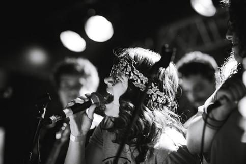 Concert musique chanteuse