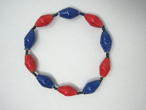 Red & Blue Bracelet
