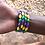 Thumbnail: Mardi Gras Stack Bracelet