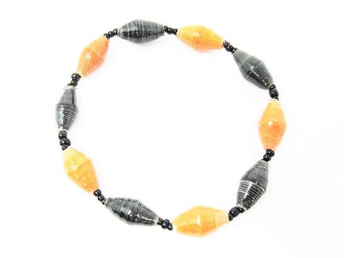 Orange & Black Bracelet