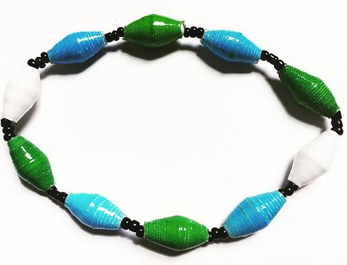Bracelet in Tulane Colors