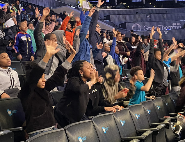 Education Day at Barclays Center