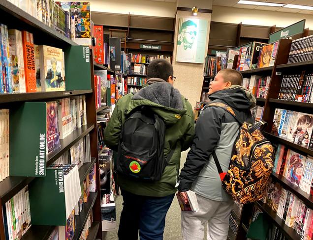 We visited Barnes & Nobles