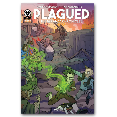 Plagued: The Miranda Chronicles volume 1 available for pre-order!