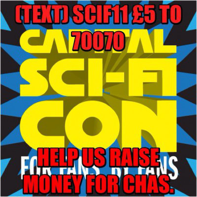 Come meet me at Capital Sci-Fi Con