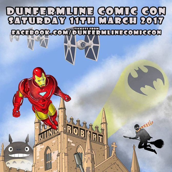 I'll be at Dunfermline Comic Con