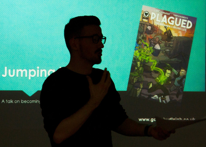 All about my recent talk at West College Scotland Clydebank