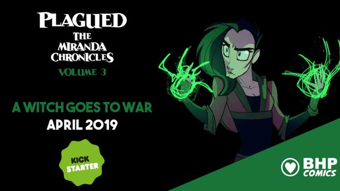 Plagued volume 3 Kickstarts this April