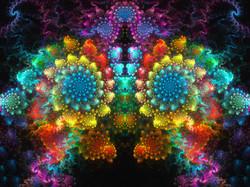 Fractal Rainbow Spiral
