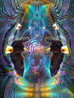 Mirrored Eagle