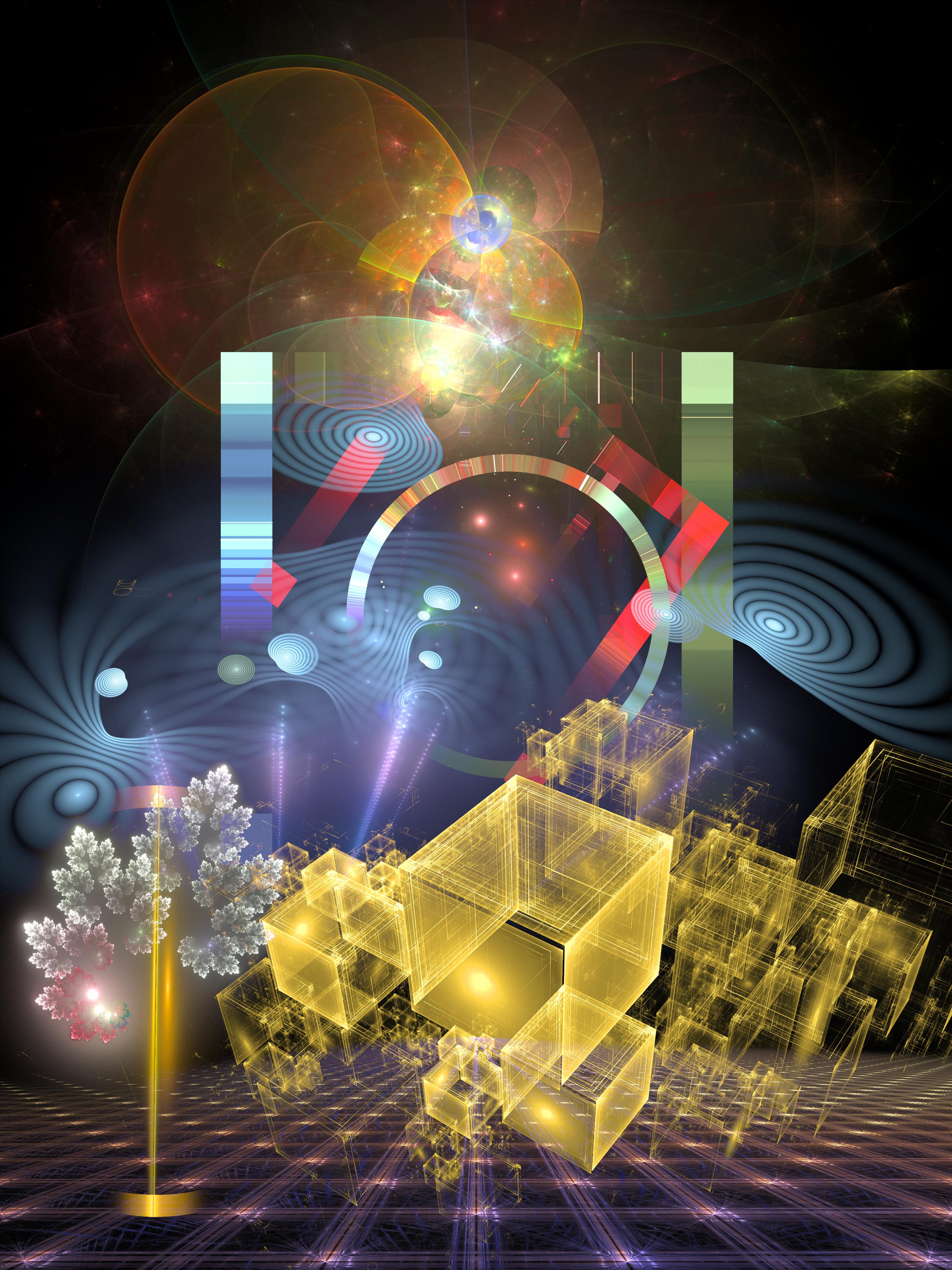 Cube Cityscape