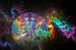 Fractal Rainbow Planet