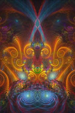 Fractal Ganesha Spinning Beats