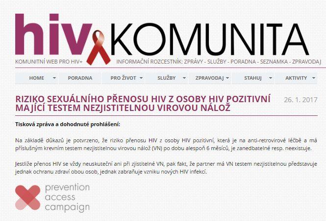 Czech AIDS Help Society - CZ