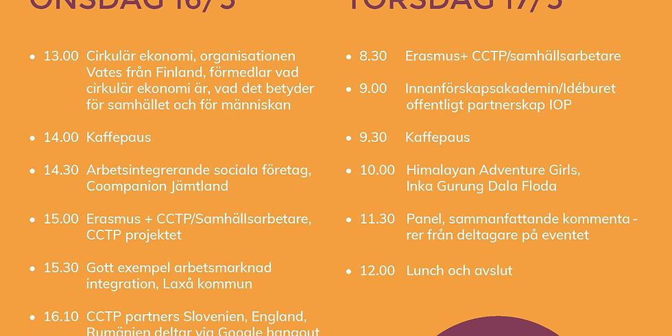 Samhällsarbete och samhällsinsatser - Social och hållbar utveckling