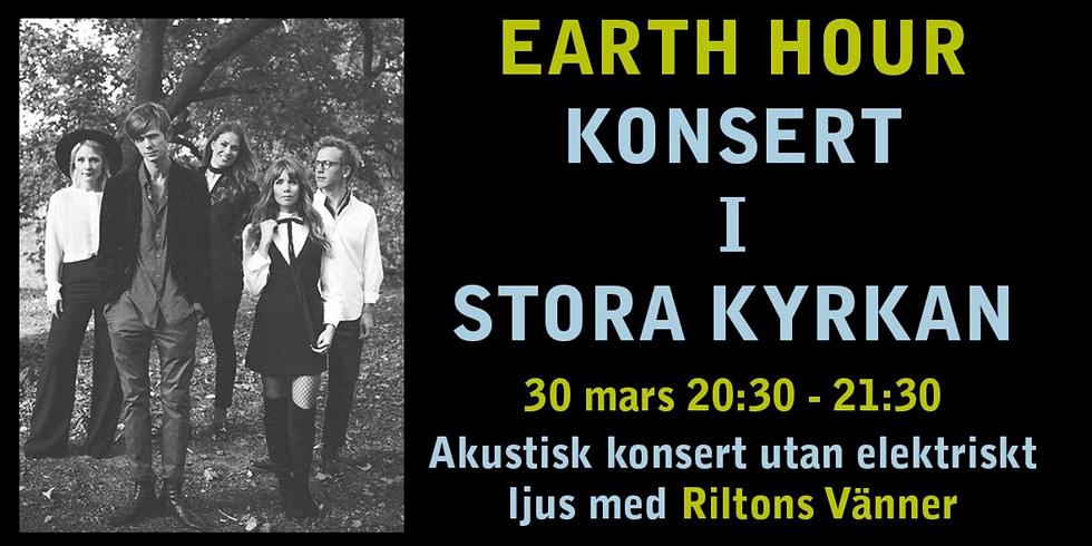 Earth Hour- konsert med Riltons Vänner i Stora kyrkan