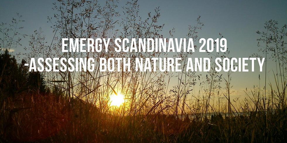 Emergy Scandinavia 2019 – Assessing both Nature and Society