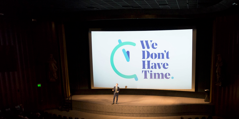 #WeDontHaveTime Climate Conference