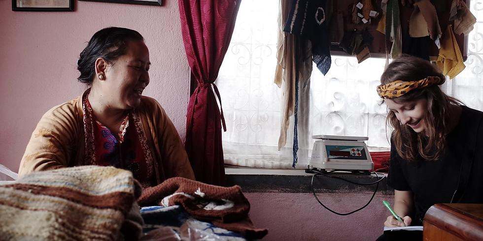 Färgglad och hållbar utveckling bland Himalayas toppar och dalar
