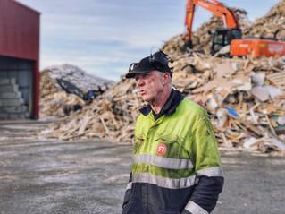 Avfallsklynge i Trondheim