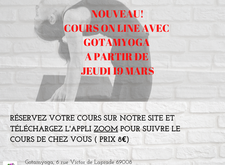 Cours on line!