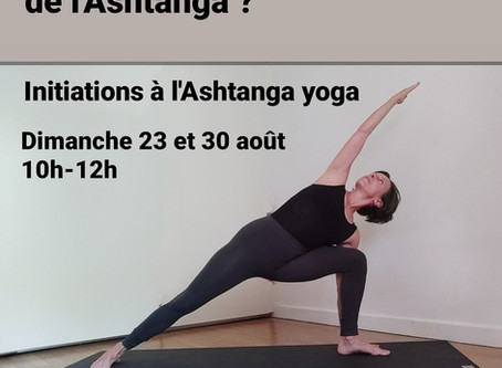 Initiation Ashtanga Yoga