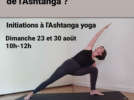 Initiation Ashtanga Yoga