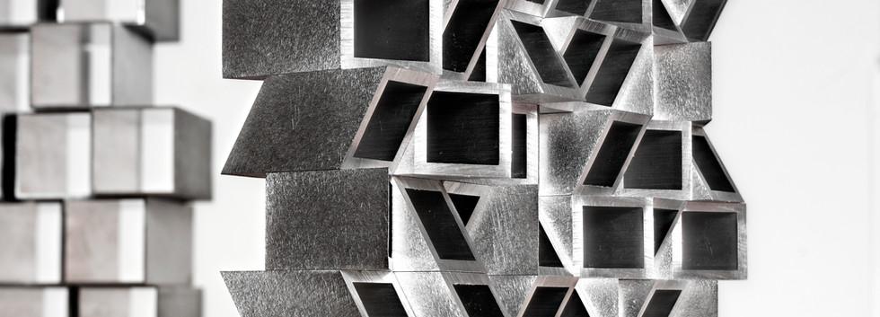 8 x 8 x 1 @ 30º Aluminum Stack