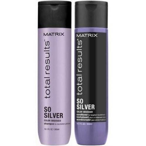 Shampooing et Revitalisant So Silver - Matrix