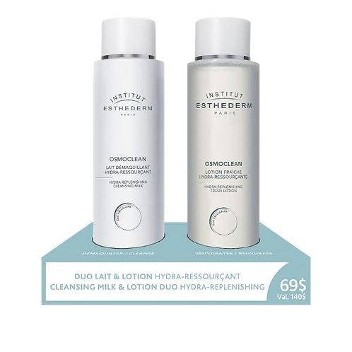 Duo Lait et Lotion Hydra-Ressourçant - Osmoclean