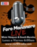 Copia de Radio Talk Show Flyer - Hecho c